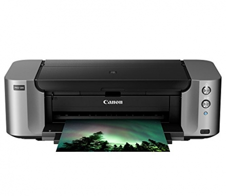 Canon PIXMA Pro-100 Wireless Color Professional Inkjet Printer with Airprint and Mobile Device Print