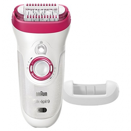 Braun Silk-épil 9 9-521 – Wet & Dry Cordless Electric Hair Removal Epilator for Women