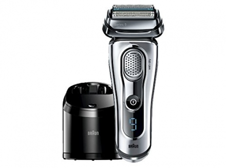 Braun Series 9-9095cc Wet and Dry Foil Shaver for Men with Cleaning Center, Electric Men's Razor, Ra