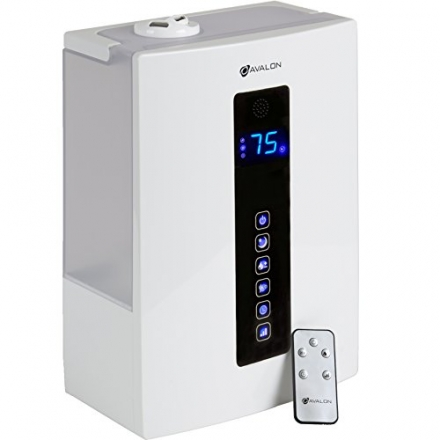 Avalon 5 Liter Ultrasonic Digital Humidifier – Cool/Warm Mist, No Noise, Adjustable Humidity Levels,