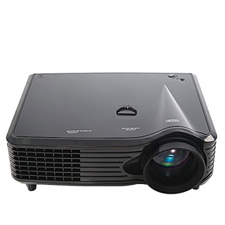 FastFox LCD LED Projector 800*480 2000 Lumen Full HD Home Theater Support HDMI VGA AV USB for Educat