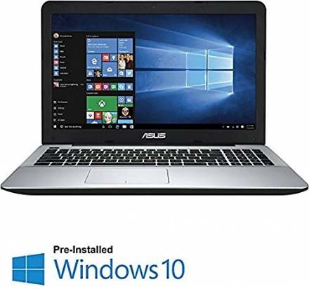 ASUS R556LA 15.6″ Notebook Computer, Intel Core i5-5200U 2.2GHz, 6GB RAM, 1TB HDD, Windows 10