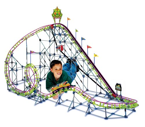 KNEX Screamin Serpent Roller Coaster