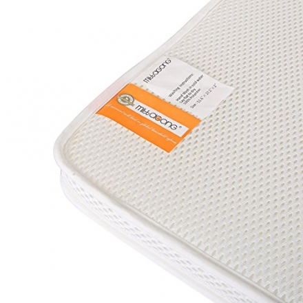 Mittagong 3D Breathable Washable Baby Rest Crib Mattress,51.6×27.2x2in