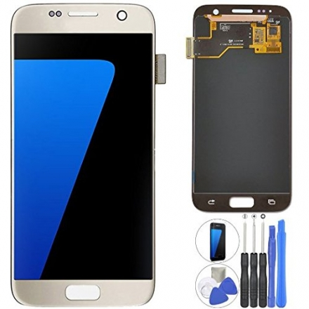 Coobetter® Screen Replacement Samsung Galaxy S7 LCD Display Screen + Touch Digitizer Assembly Compa
