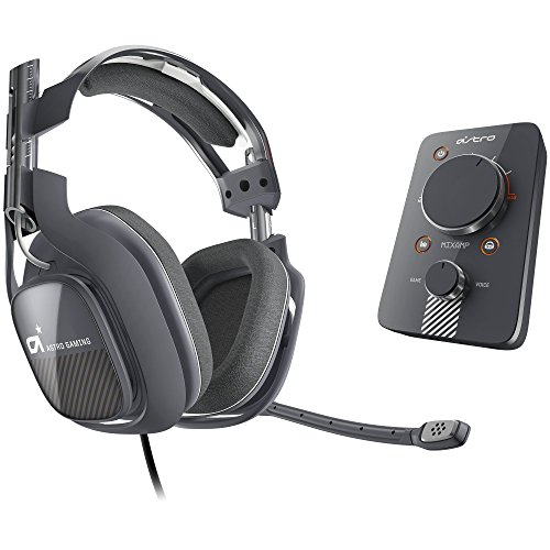 ASTRO Gaming A40 and MixAmp Pro PS4 – Dark Grey [2014 model]