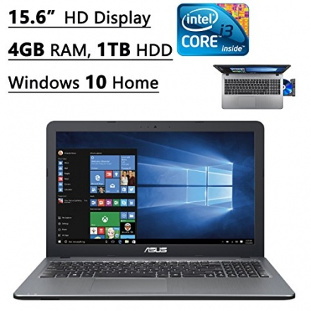 Asus X540LA-SI30205P 15.6-Inch Laptop (Intel Core i3, 4GB Memory,1TB Hard Drive, Windows 10 Home), S