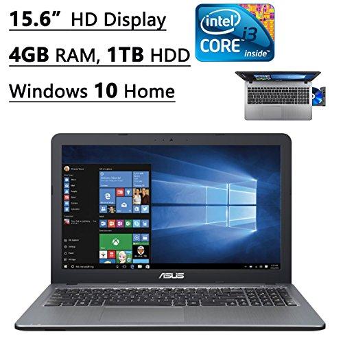 Asus X540LA-SI30205P 15.6-Inch Laptop (Intel Core i3, 4GB Memory,1TB Hard Drive, Windows 10 Home), S