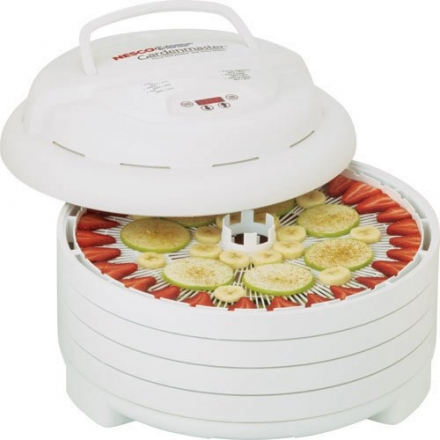 Nesco FD-1040 Gardenmaster Food Dehydrator, White, 1000-watt
