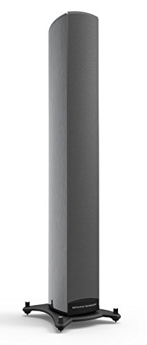 Definitive Technology Mythos ST-L SuperTower with Built-In Powered Subwoofer – Each (Graphite Silver
