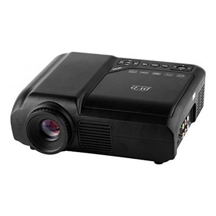 FastFox LED DVD Projector 60 Lumens 320×240 Multimedia Home Movie Business Beamer Support USB TV Mov