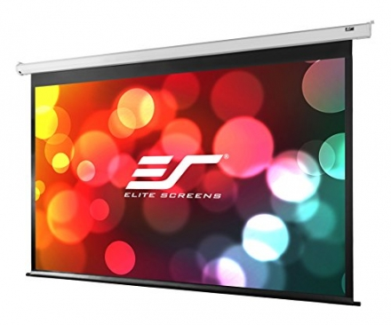 Elite Screens Spectrum, 100-inch 4:3, 4K Home Theater Electric Motorized Drop Down Projection Projec