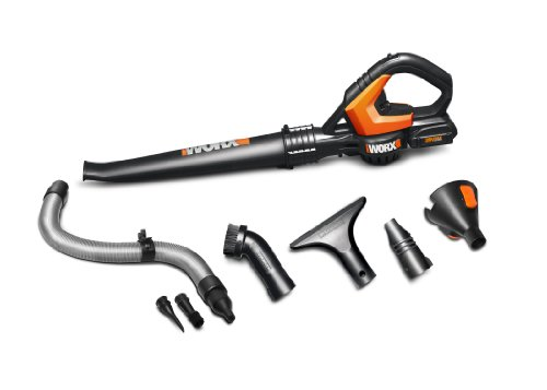 WORX WG545.1 WORXAIR Lithium Multi-Purpose Blower/Sweeper/Cleaner, 20-volt, Battery and Charger Incl