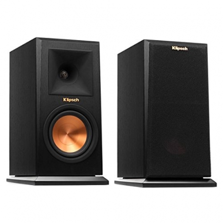 Klipsch RP-150M Bookshelf Speaker – Ebony (Pair)