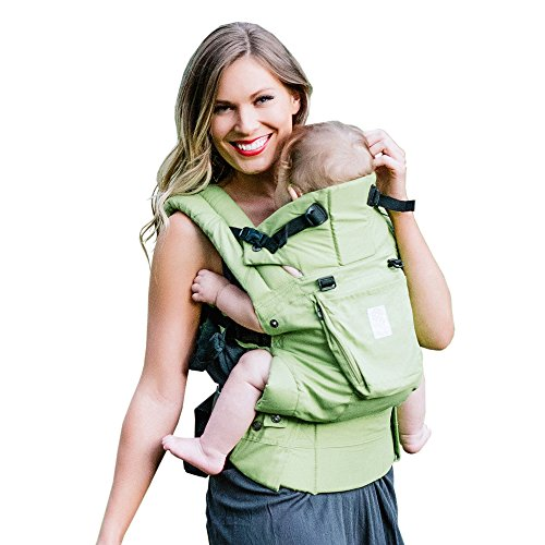 SIX-Position, 360° Ergonomic Baby & Child Carrier by LILLEbaby – The COMPLETE Organic (Green Meadow