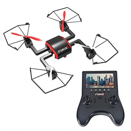 Focus FPV Drone with HD Camera and Live Video Feed – 720P Camera Drone Quadcopter with WiFi, Return