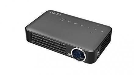 Vivitek Qumi Q6-GY Q6 800 Lumen WXGA LED MHL HDMI Projector with Wireless and Miracast Capability (G