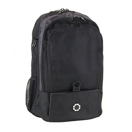 DadGear Backpack Diaper Bag – Solid Black