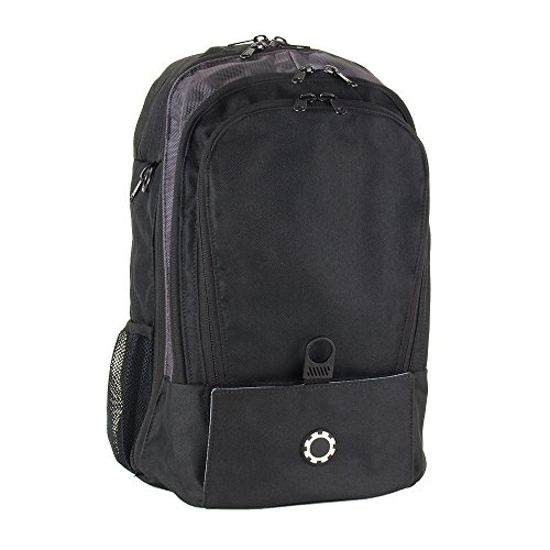 DadGear Backpack Diaper Bag – Solid Black
