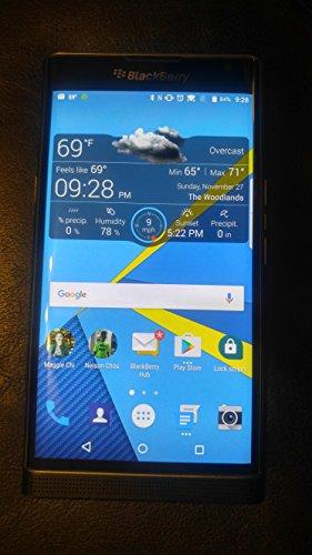 BlackBerry Priv STV100-1 32GB 4G LTE Unlocked Slider Android Smartphone – Black