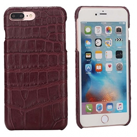 "iPhone 7 Plus (5,5)"" Crocodile Case Luxury Trop Saint Cover Hand Made from Genuine Crocodile Skin –"
