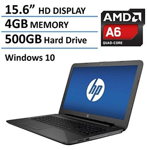 HP Pavilion 15 15.6-Inch Laptop (AMD Quad-Core A6-5200 , 4GB RAM, 500GB HDD, DVD+/-RW, Webcam, Wifi,