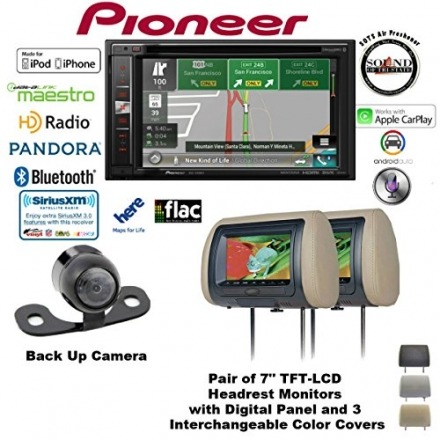 Pioneer AVIC-6200NEX 6.2″ Navigation DVD Receiver with Bluetooth, HD Radio, Backup Camera SV-6922.LM