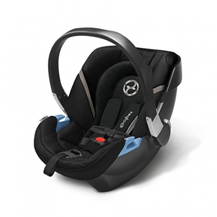 CYBEX Aton 2 Infant Car Seat, Black Beauty