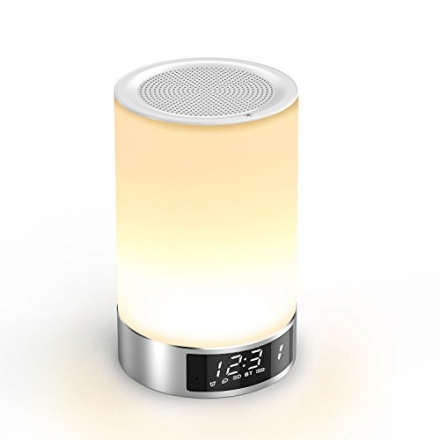 Bluetooth Speaker, Aolaifo Romantic Touch Sensor Dimmable Table Lamp with Wireless Bluetooth 4.0 Spe
