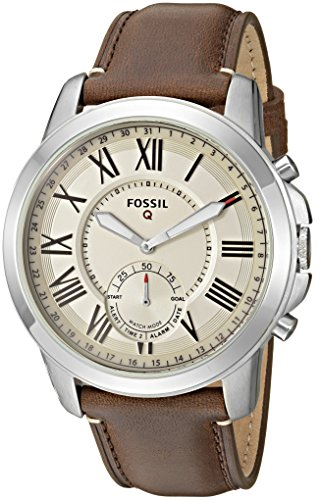 Fossil Q Grant Gen 2 Hybrid Smartwatch Dark Brown Leather FTW1118