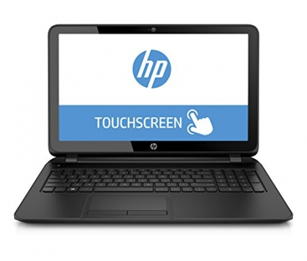 HP 15-F222WM 15.6″ Touch Screen Laptop (Intel Quad Core Pentium N3540 Processor, 4GB Memory, 500GB H