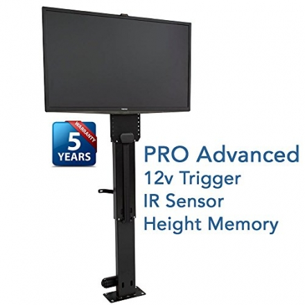 Touchstone 23401 Whisper Lift II Pro Motorized TV Lift, 32 In. Tall, TVs Up To 36 In. Hgt Memory, IR