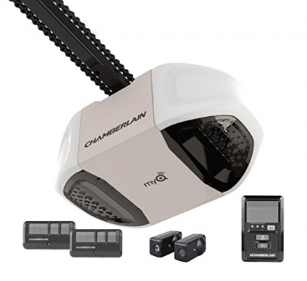 Chamberlain PD762EV Garage Door Opener, ¾ HP, Durable Chain Drive Operation, MyQ Smartphone Control