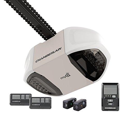 Chamberlain PD762EV Garage Door Opener, ¾ HP, Durable Chain Drive Operation, MyQ Smartphone Control