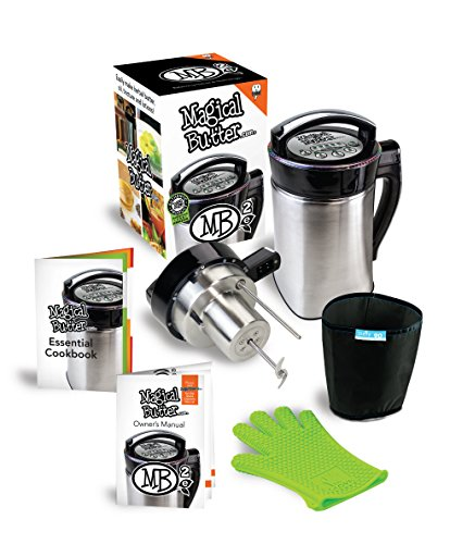MagicalButter MB2e Botanical Extractor Machine with MagicalButter Official 7 page Cook Book