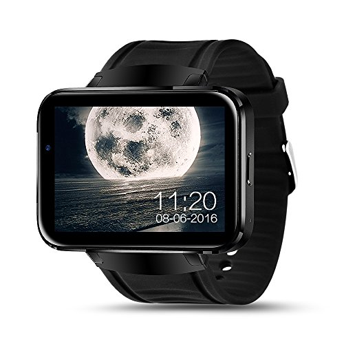 IMACWEAR W1 Bluetooth Smart Watch Large Touch Screen Support SIM TF Card with GPS, Sleeping Monitor,