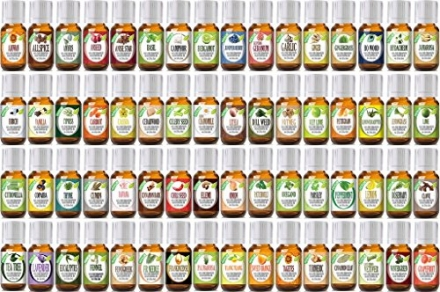 Healing Solutions Aromatherapy Essential Oil Set 64 Pieces – 10 ml