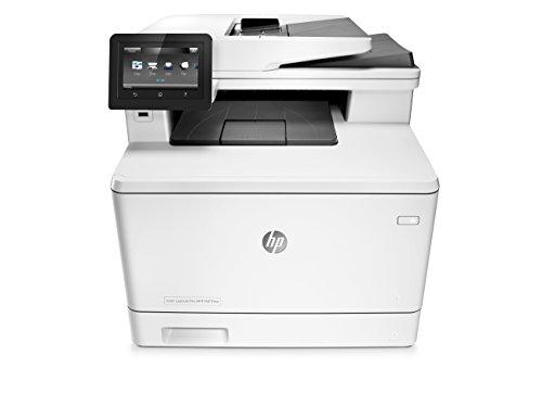 HP Laserjet Pro M477fdw Wireless All-in-One Color Printer, (CF379A)