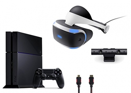 PlayStation VR Bundle 4 Items:VR Headse,Playstation Camerat,PlayStation 4