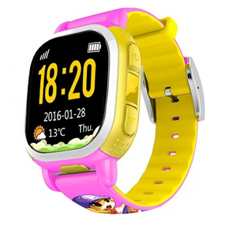 Tencent QQ Anti Lost GPS Tracker Watch For Kids SOS Emergency GSM Smart Mobile Phone App For IOS And