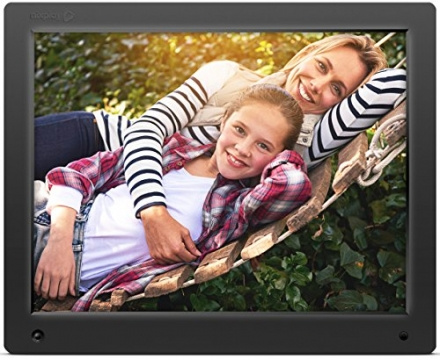 Nixplay Original 15 inch WiFi Cloud Digital Photo Frame. iPhone & Android App, Email, Facebook, drop