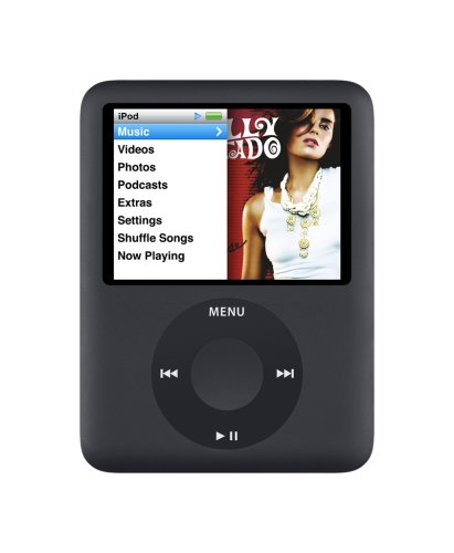 Apple iPod nano 8 GB 3rd Generation(Black)  (Discontinued by Manufacturer)