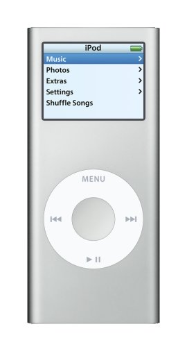 Apple iPod nano 4 GB Silver (2nd Generation)  (Discontinued by Manufacturer)