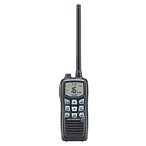 ICOM M36 Vhf-HH, 6/1W, 8HR Batt, Floats,