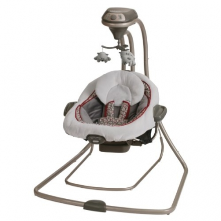 Graco DuetConnect LX Swing + Bouncer, Finley