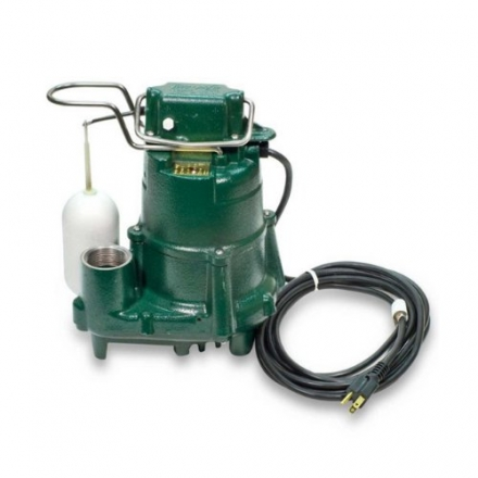 Zoeller 98-0001 115-Volt 1/2 Horse Power Model M98 Flow-Mate Automatic Cast Iron Single Phase Submer