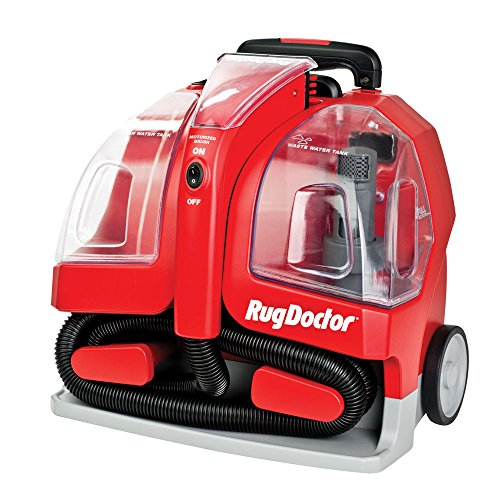 Rug Doctor Portable Spot Cleaner Machine, Red – Corded
