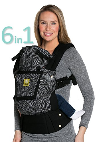 "SIX-Position, 360° Ergonomic Baby & Child Carrier by LILLEbaby – The COMPLETE Original (Black ""5th"