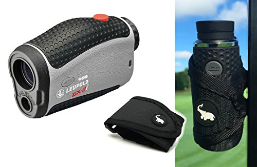 Leupold GX-2i3 Rangefinder with Magnetic Golf Cart Mount (Black) Bundle | Includes Golf Laser Rangef