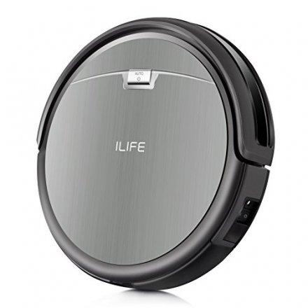 ILIFE A4s Robot Vacuum Cleaner, Smart Automatic Self-Charge Remote Control HEPA Filter for Thin Carp